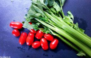 Tomaten und Sellerie