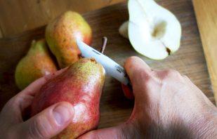 Birne schneiden