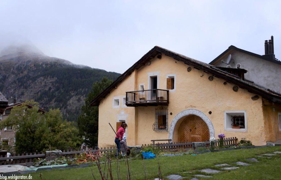Bauernhaus in Pontresina – Graubünden
