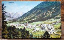 Alte Postkarte – Pontresina, Engadin
