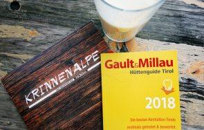 Gault Millau Hüttenguide Tirol 2018