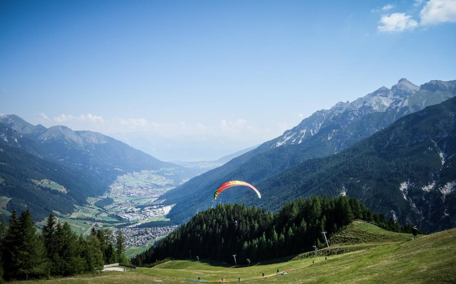 Paraglider am Elfer Neustift