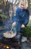 Draußen kochen