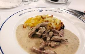 Kronenhalle Zürich - Schweizer Küche