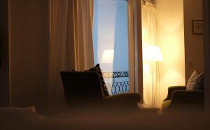 Abendstimmung im Zimmer