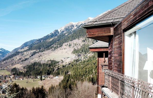 Haus Hirt – Blick auf das Gasteinertal