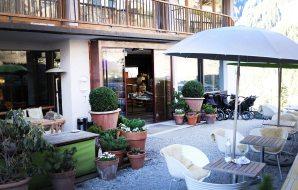 Eingang ins Haus Hirt - Bad Gastein