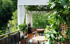 Terrasse Restaurant Schöneck