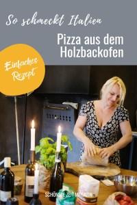 Rezept für Pizza aus dem Holzbackofen