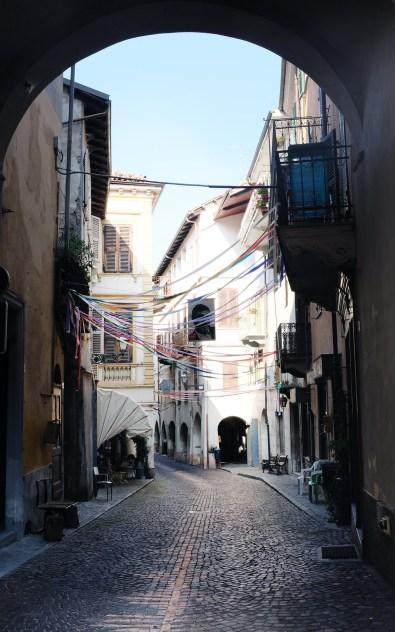 Dogliani Altstadt