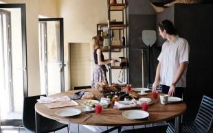 Küche im Casa Castello