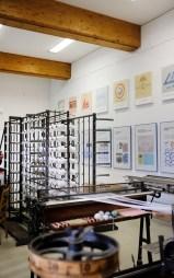Damastmuseum Großschönau – Ausstellungsraum