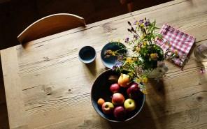 Ganz klar ein Lieblingsteil: der Küchentisch