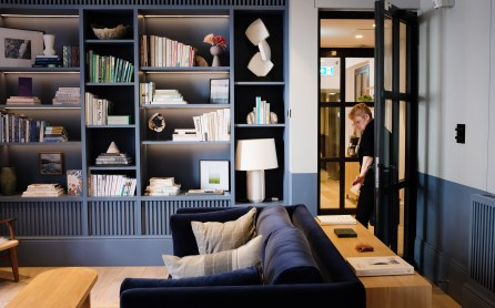 Bibliothek – Inhabit Hotel London