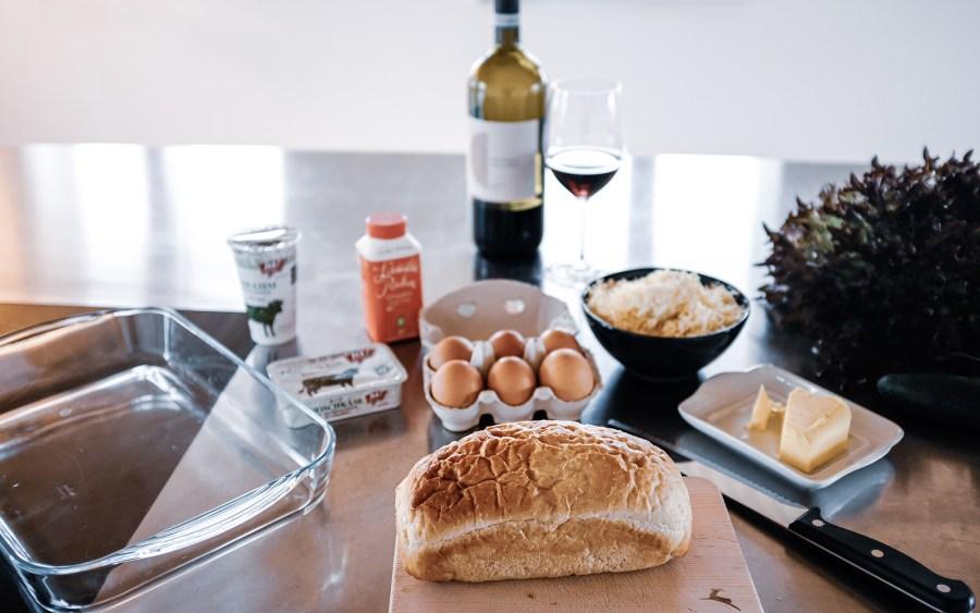 Zutaten für Walliser Käsekuchen nach einem alten Rezept