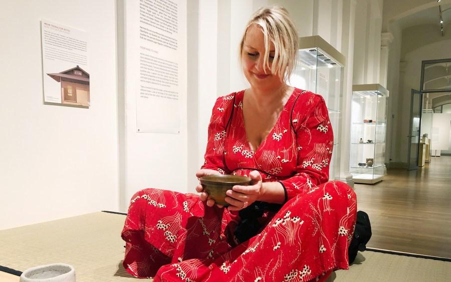 Japanische Teeschalen im Museum für Kunst und Gewerbe