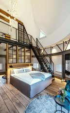 Apart Hotel Wasserturm in Segeberg - Turmzimmer – Copyright: Wasserturm