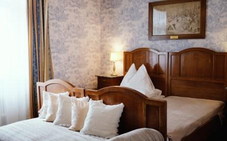 Hotelzimmer in der Villa Excelsior