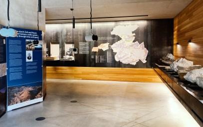 Zweiter Ausstellungsraum im Naturparkhaus Puez Geisler im Villnösstal