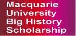 Big History Scholarship