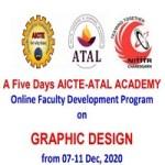 A Five Days AICTE-ATAL ACADEMY Online Faculty Development Program on GRAPHIC DESIGN