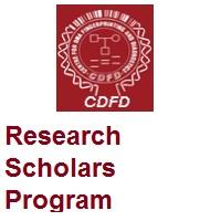 Centre for DNA Fingerprinting and Diagnostics Research Scholars Program