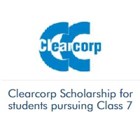 Clearcorp Scholarship for students pursuing Class 7