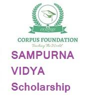Corpus Foundation SAMPURNA VIDYA Scholarship