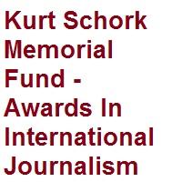 Kurt Schork Memorial Fund - Awards In International Journalism