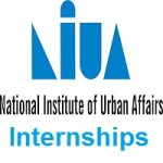 National Institute of Urban Affairs (NIUA) Intern - Research Assistant
