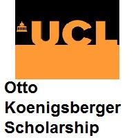 Otto Koenigsberger Scholarship (OKS) University College London