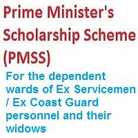 Prime Minister's Scholarship Scheme 2020-21