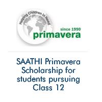 SAATHI Primavera Scholarship for students pursuing Class 12