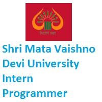 Shri Mata Vaishno Devi University Intern Programmer