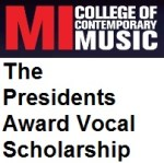 The Presidents Award Vocal Scholarship