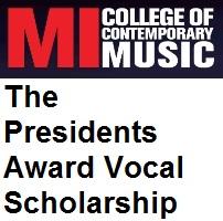 The Presidents Award Vocal Scholarship