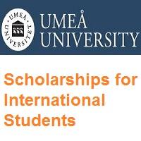 Umeå University Scholarships for International Students