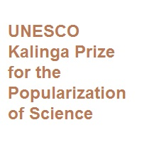UNESCO Kalinga Prize for the Popularization of Science 2021