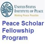 USIP's Peace Scholar Fellowship Program