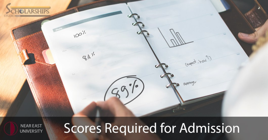 Near East University Required Scores for Admission