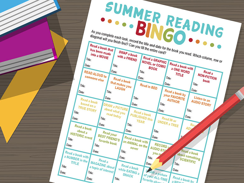 Use Book Bingo To Inspire Summer Reading