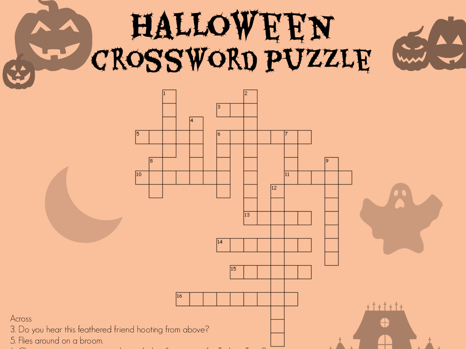 Free Halloween Worksheet 5th Grade