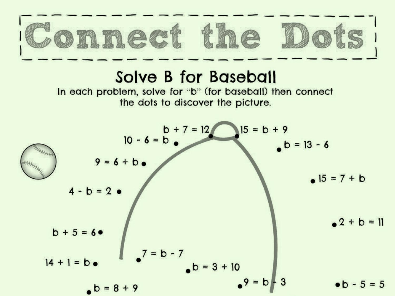 Solve B For Baseball