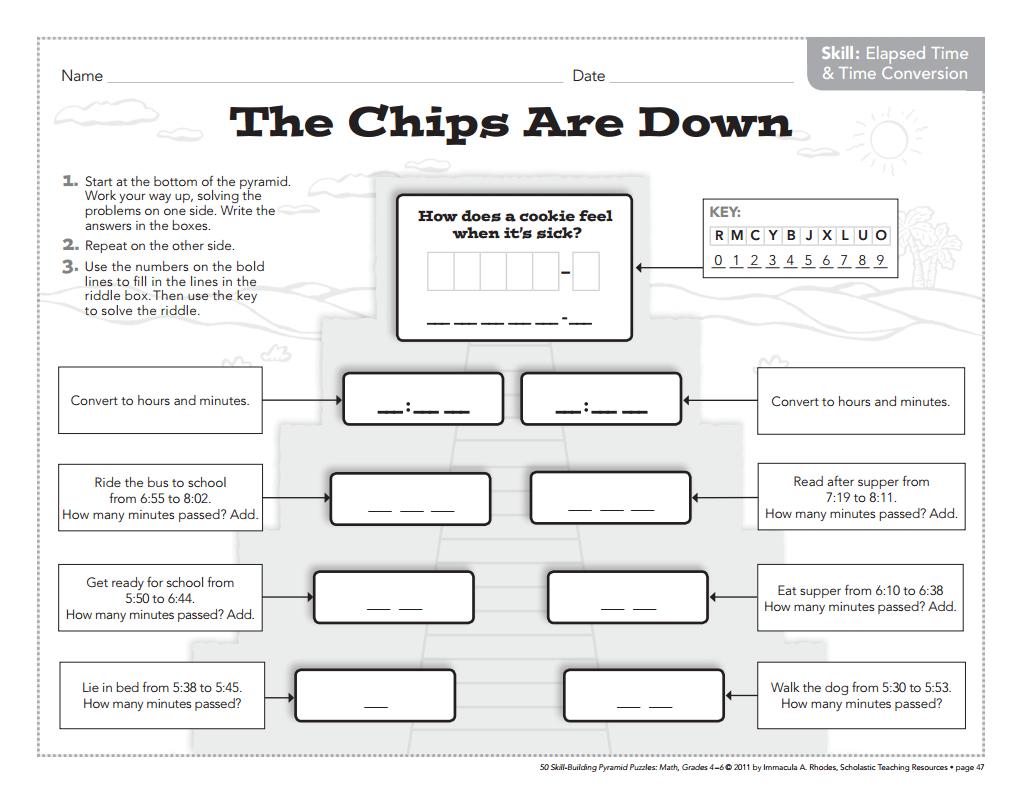 3rd Grade Math Intervention Worksheets