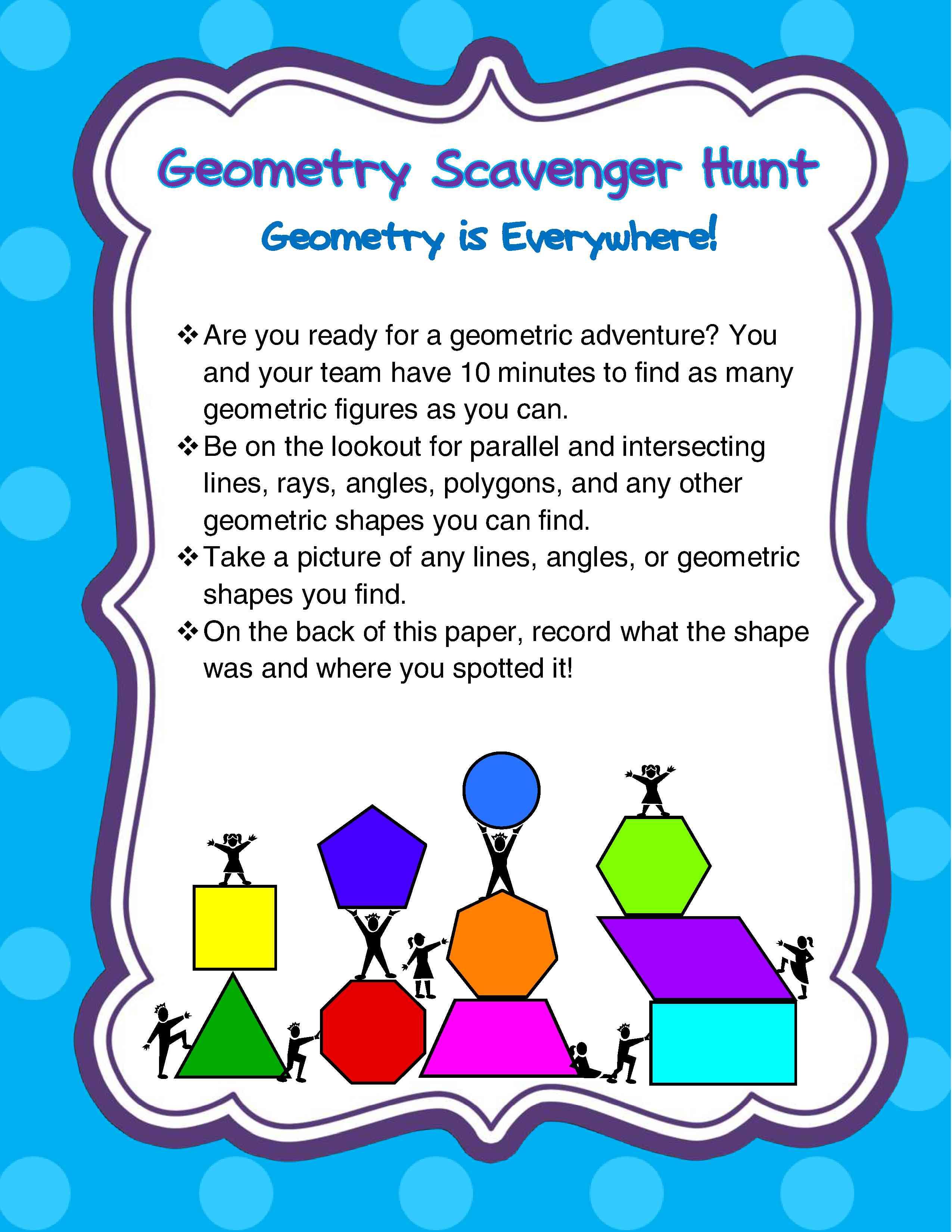 Five Ways To Make Geometry Memorable