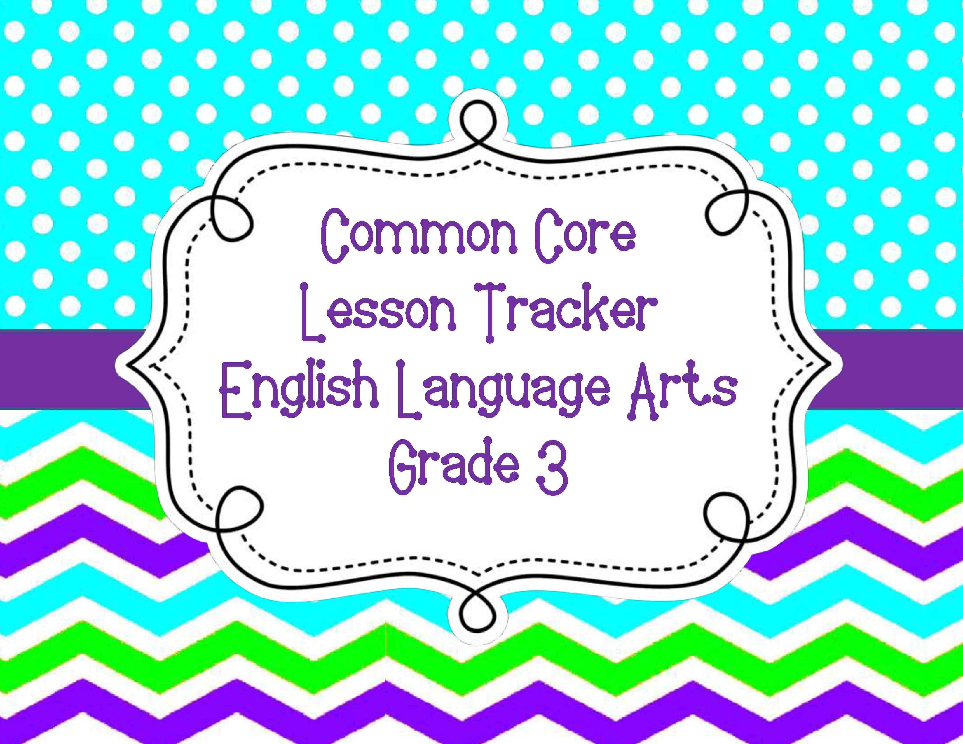 Common Core Lesson Plan Organizers For Math And Ela