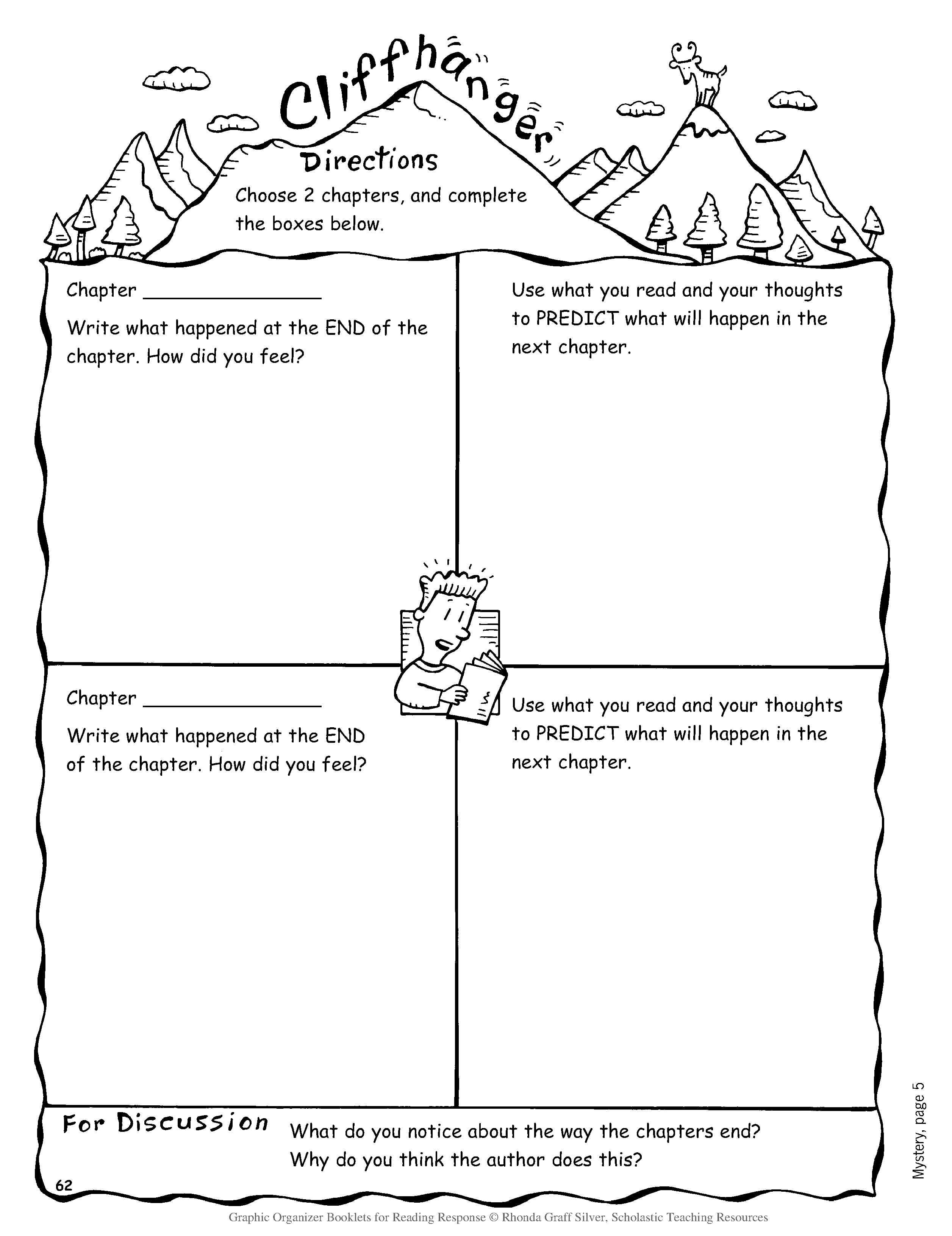 Writing A Fantasy Story Graphic Organizer