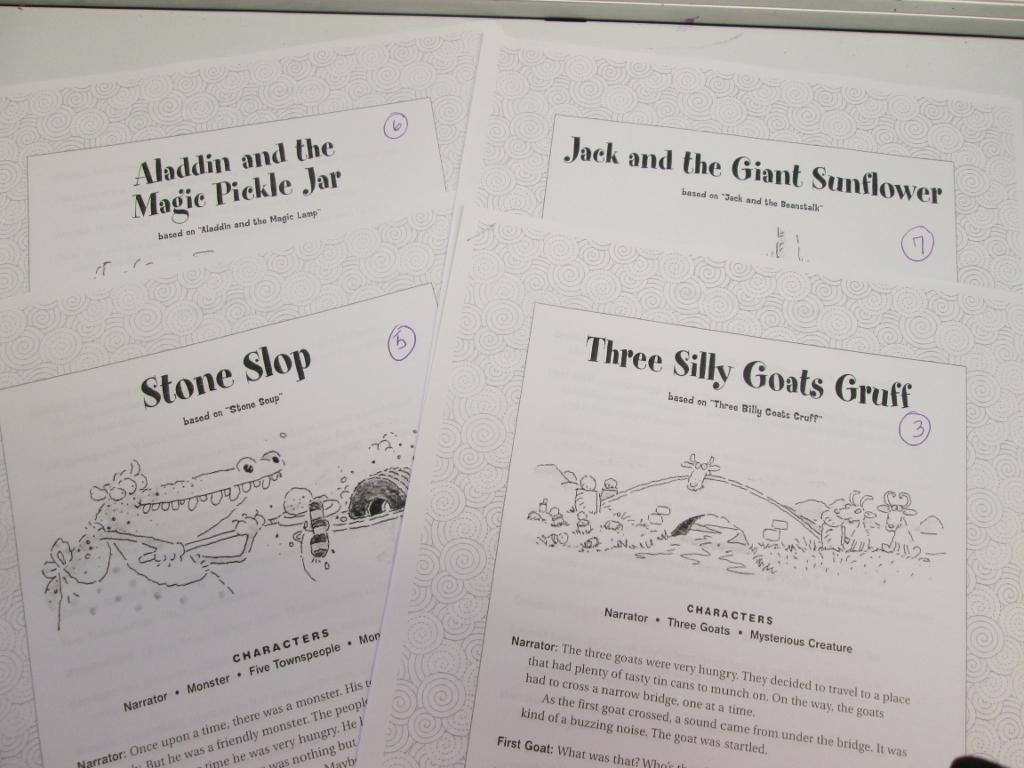 Creative Usa 4th Grade Drama Scripts