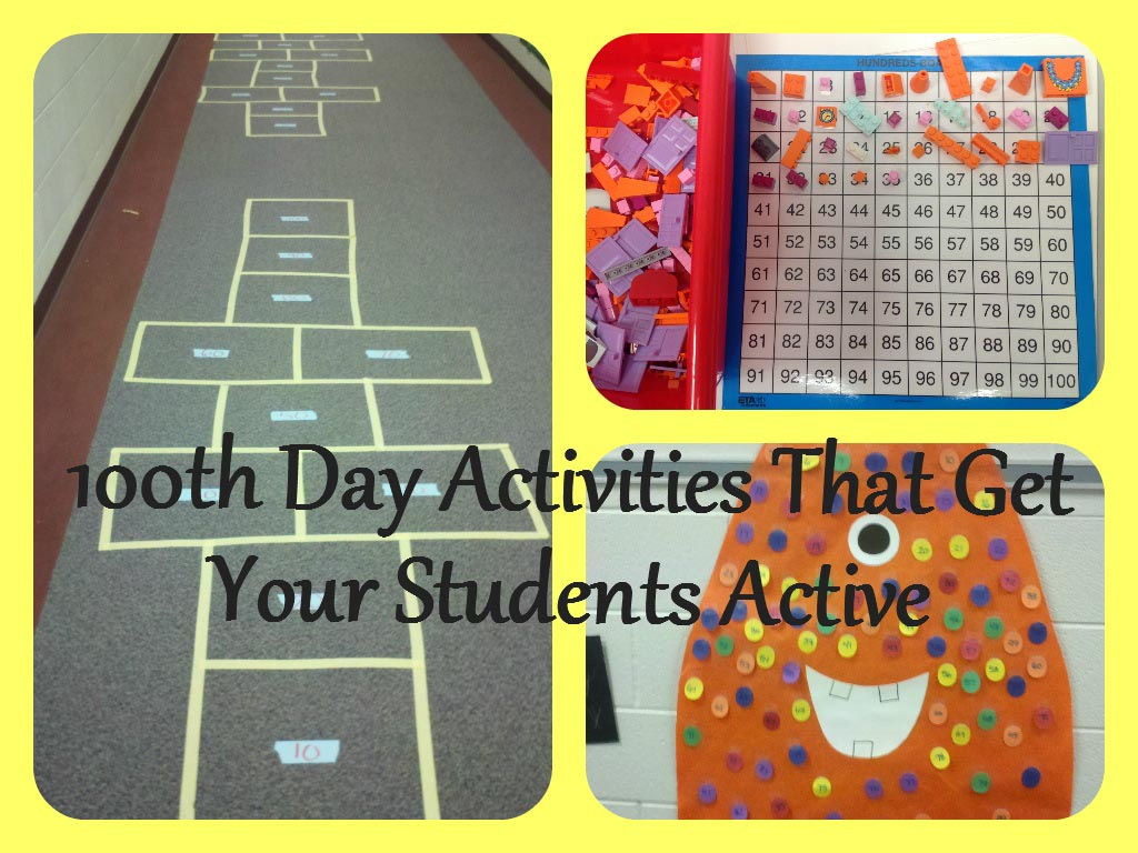 100th Day Activities That Get Your Kids Active