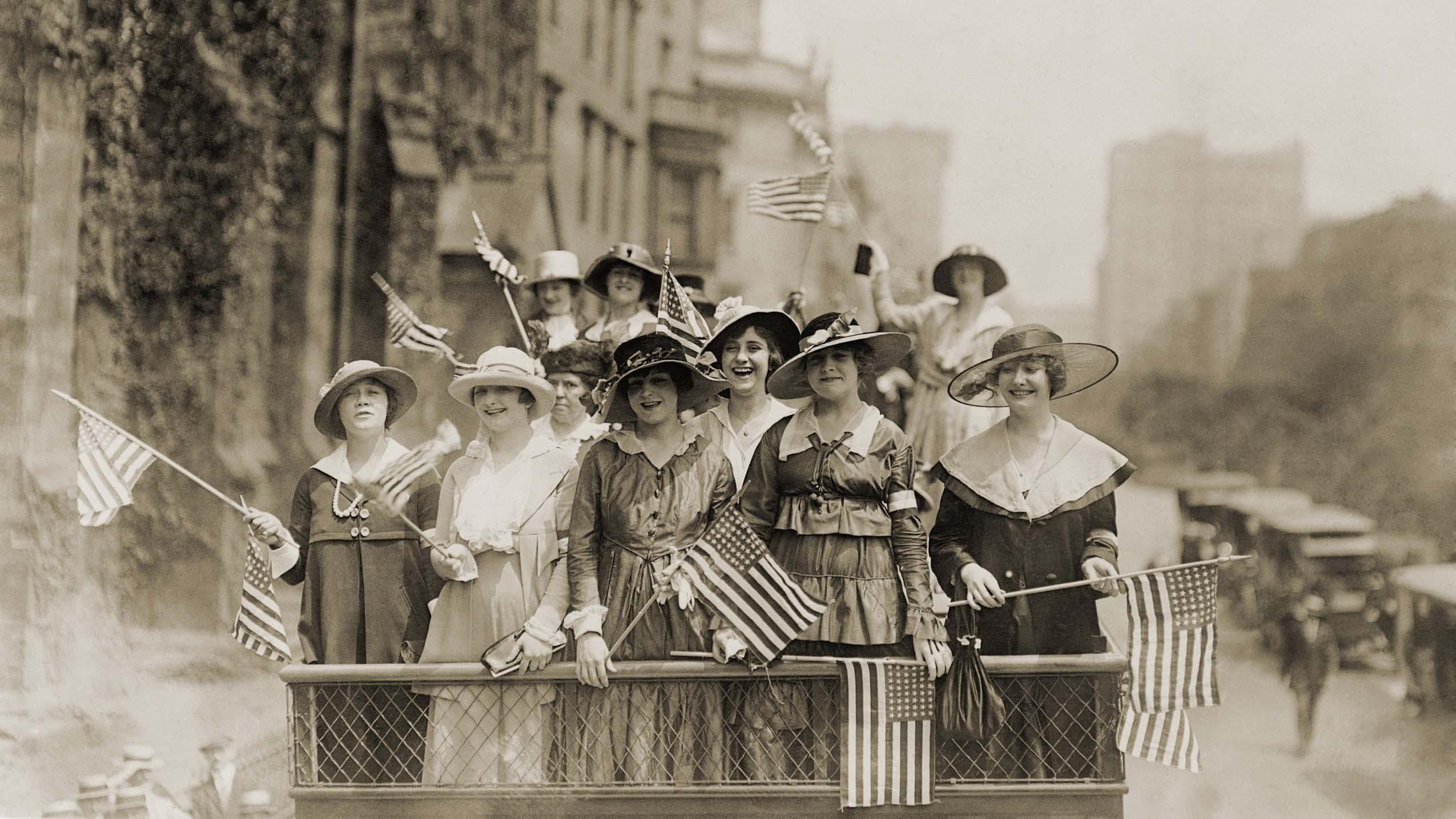 Women S Suffrage For Grades 6 8